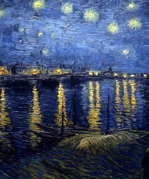 Liebesträume N°3 de F. Liszt - Nuit étoilée sur le Rhône